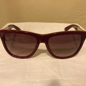 Yves Saint Laurent Red Sunglasses YSL 6373/S LHFS2